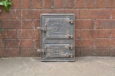 cast iron fire door clay / bread oven door / pizza stove smoke house