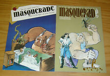Masquerade #1-2 VF/NM complete series - mad monkey press - indy comics set lot