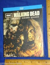 NEW-WALKING DEAD SEASON 2,TWO,SECOND(Special/Limited Edition Blu-ray)Zombie Head