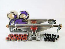 Venture V-Light 5.8 Hi Polished Skateboard Trucks + Spitfire 54mm Bighead Wheels