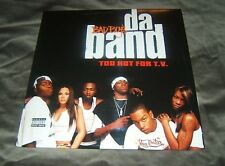 Bad Boy's Da Band*   ‎– Too Hot For T.V. 2003 Bad Boy Entertainment ‎ NEW