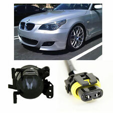 2004-09 BMW E60 M5 STYLE FRONT BUMPER W/ SMOKED FOG LIGHTS & CONNECTORS NO PDC