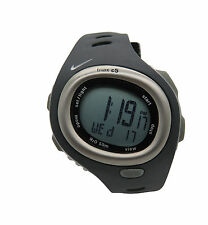 Nike Triax HRM C5 SM0015 Anthracite Black Silicone Heart Rate Monitor Watch