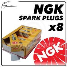 8x NGK SPARK PLUGS Part Number BP7ES Stock No. 2412 New Genuine NGK SPARKPLUGS