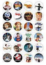 24 Family Film Movie Classic Wafer / Rice Paper Cupcake Topper Edible Fairy Cake