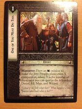 Lord of the Rings CCG Realms Elf-Lords 3C63 One of You Must Do This X2 LOTR TCG