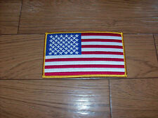 """U.S AMERICAN FLAG ARM PATCH 3""""X 5"""" FULL COLOR"""
