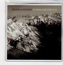 (FE814) Sights & Sounds, Storm And The Sun - 2009 DJ CD