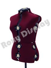 Perfect Female Mannequin Adjustable Sewing Dress Form Torso Stand Medium Size  #jf Fh 8