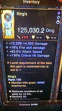 Diablo 3 ULTIMATE HARDCORE MODE MODDED WEAPONS + ARMOUR + RINGS + LEGENDARY GEMS