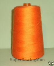 HEAVY DUTY INDUSTRIAL SEWING MACHINE THREADS SIZE T-60 (30/3) COLOR orange