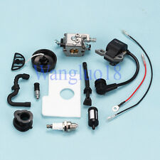 Carburetor Ignition Coil Fuel Gas Cap For STIHL Chainsaw 017 018 MS170 MS180