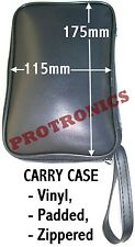 CASE POUCH, SOFT, VINYL, PADDED - Carry Multimeter Phone Speaker Battery Camera