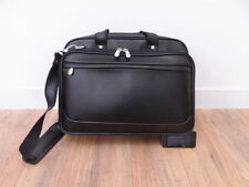 Business Briefcase Luggage Pilot Work Flight Carry Holdall Bag Faux Leather