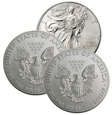 Lot of (3) Us Silver Eagles Lot 8C