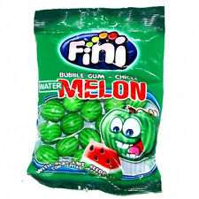 FINI Watermelon Shaped Bubble Gum with Real Like Seeds 90g 3.2oz