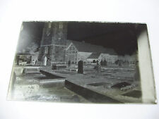 Lot77 - c1890s CHURCH & GRAVEYARD - Possibly Aberystwyth? - Glass Negative