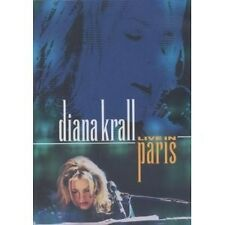 "DIANA KRALL ""LIVE IN PARIS"" DVD NEU"