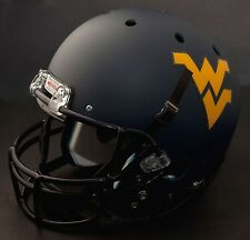 WEST VIRGINIA MOUNTAINEERS Schutt AiR XP GAMEDAY Football Helmet WVU (MATTE)