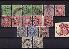 Lot Deutsches Reich -  aus Nr.  31 / 36 - undurchsucht - KW 105,-- € ( 13197 )