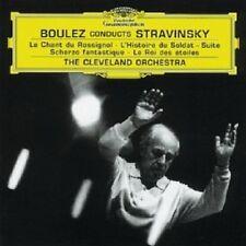 PIERRE BOULEZ/CLO - IGOR STRAVINSKY-LE CHANT DU ROSSIGNOL/+  CD  15 TRACKS  NEU