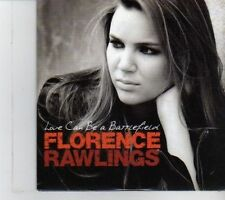 (DR806) Florence Rawlings, Love Can Be A Battlefield - 2009 DJ CD