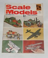 SCALE MODELS DECEMBER 1971 - THE SHORT NOSE 190'S/HASEGAWA BOEING P-12E
