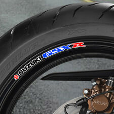 SUZUKI GSX R WHEEL RIM STICKERS gsxr