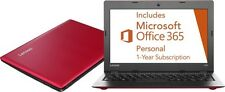 "NEW Lenovo 80R2001FUS IdeaPad 100s 11.6"" Laptop Notebook Red + Office 365"
