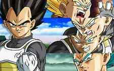 Poster A3 Dragon Ball Vegeta Evolucion / Vegeta Evolution