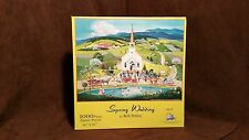 Bob Pettes Spring Wedding Jigsaw Puzzle 1000 pieces 2004