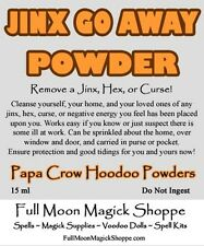 Jinx Go Away Powder Used To Cleanse, Remove Hex, Spell, Curse, Add Positive Feel