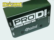Radial Engineering ProDI Passive Instrument Direct Box PRO DI MINT! FAST SHIP!!