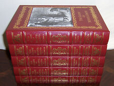 Easton Press THE COUNT OF MONTE-CRISTO Alexandre Dumas in 5 vols