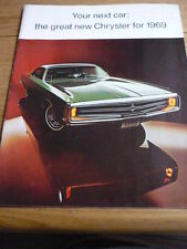 CHRYSLER NEW YORKER 300 NEWPORT TOWN & COUNTRY PRESTIGE, LARGE BROCHURE jm