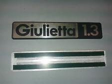 ALFA ROMEO GIULIETTA 1.3 Rear aluminum script 180 mm. lenght