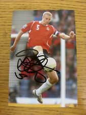 circa2000's Autographed Glossy Photograph: Norway - Hangeland, Brede. Thanks for