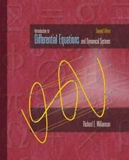 Introduction to Differential Equations and Dynamical Systems, Richard E. William