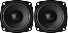 "NEW PAIR All-Purpose Replacement 4"" Speaker Woofer Driver Home Theater Car 140W"