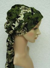 Chemo head wear, chemo bonnet, bad hair day head covering, women's head snood