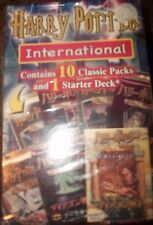 Harry Potter Trading Cards International,  2006 10 packs & 1 starter deck  RARE!