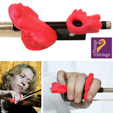 Things 4 Strings Sparkly Pink Violin-Viola Bow Hold Buddies - STRING SPECIALISTS