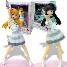 "NEW Authentic 8"" SEGA Prize Oreimo Kirino & Kuroneko Irony OP Premium Figure Set"