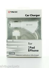 Car Charger 2.1A With USB Port For Apple iPad iPhone iPad Mini iTouch Nano