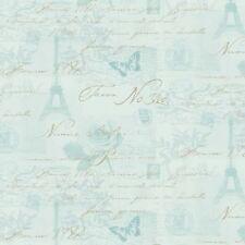 Holden Decoración fondos de pantalla-caligrafía - París/Sellos/Eiffel Torre-pato
