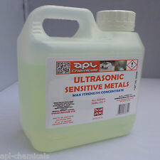 ULTRASONIC CLEANING SERVICE FLUID cleaner solution 1 lt