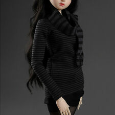 "Dollmore  1/3 BJD 22"" doll clothes SD SIZE- HKMK Stra T Shirt(Bold Black)"