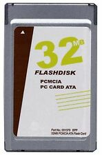 New Gigaram 32MB PCMCIA ATA Flash Card (Sandisk replacement p/n SDP3B-32)