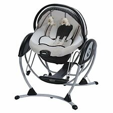 Graco Glider Elite BABY SWING, 2 In 1 5 Point Harness  BABY BOUNCER, Pierce