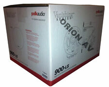 Polk Audio 900-LS  In-Ceiling 3-Way Vanishing Dual Port In-Ceiling Speaker New